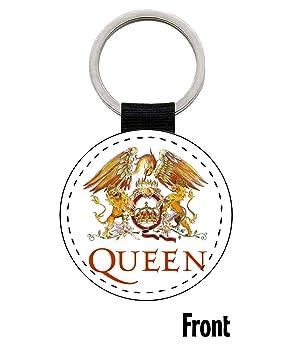 MasTazas Queen Freddie Mercury Llavero Keyring: Amazon.es ...