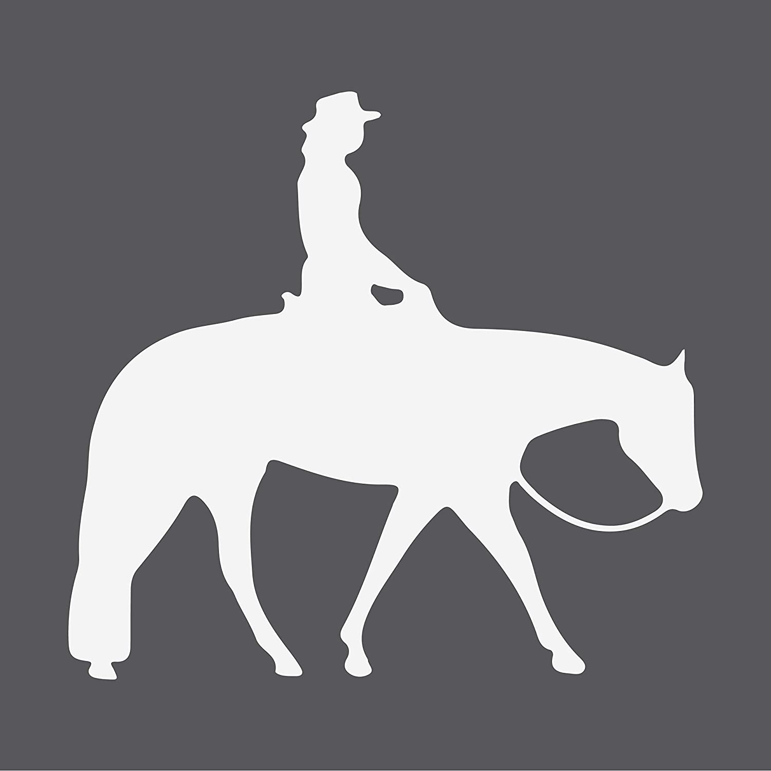 2 HORSE LOVE LIFE  sticker vinyl decal for car and others FINISH GLOSSY