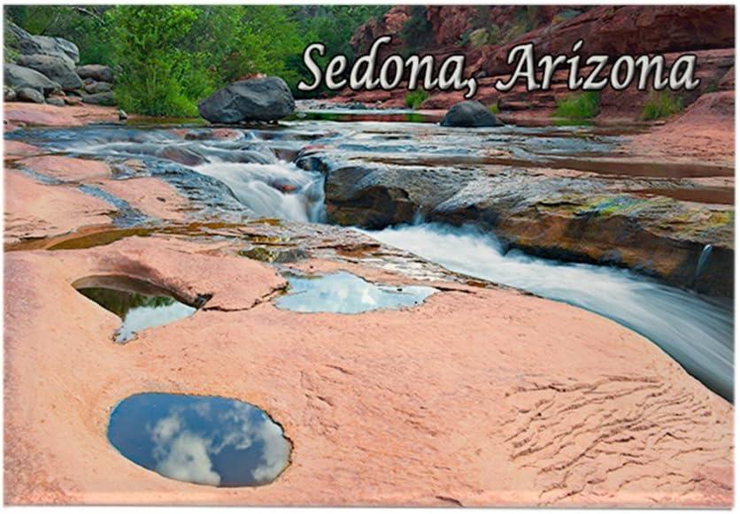 CafePress – Slide Rock State Park, Sedona, AZ – Rectángulo Imán ...