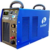 "Lotos LTP8000 80Amp Non-Touch Pilot Arc Air Plasma Cutter, 1"" Inch Clean Cut"