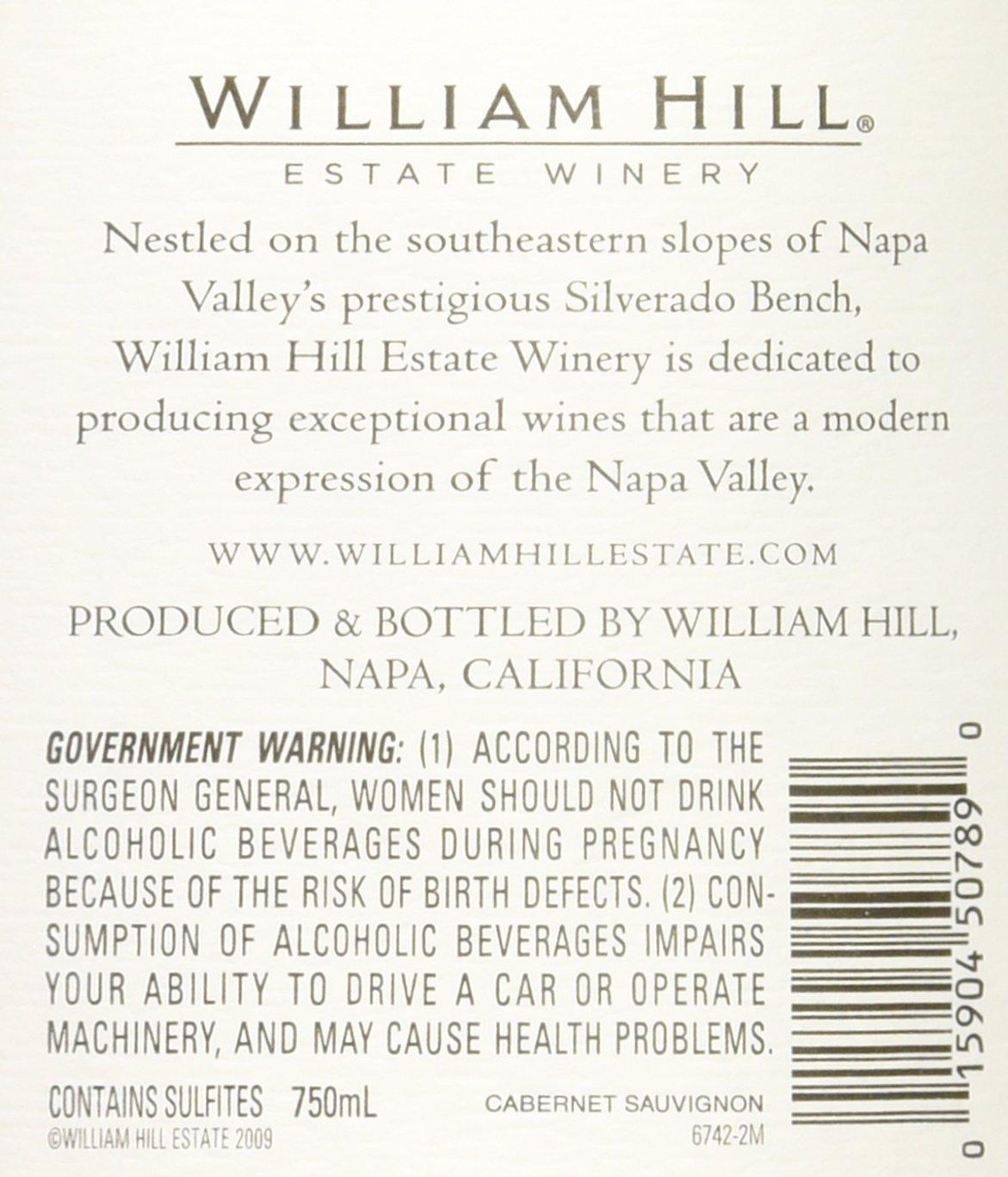 2013 william hill estate winery napa valley cabernet sauvignon