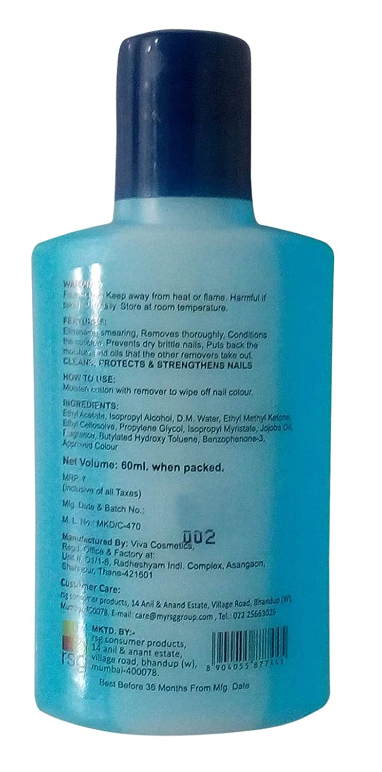 size 40 1d7cf 9c88c Buy RSG Night   Day Nail Polish Remover, 60ml Bottle Online at Low Prices  in India - Amazon.in