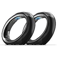 Idect Eclipse Plus - Teléfono inalámbrico Digital, 2 audífonos, Negro, 2 Auriculares