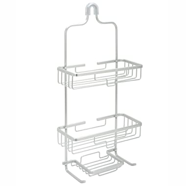 Zenna Home NeverRust Rustproof Aluminum Shower Caddy, Satin Chrome