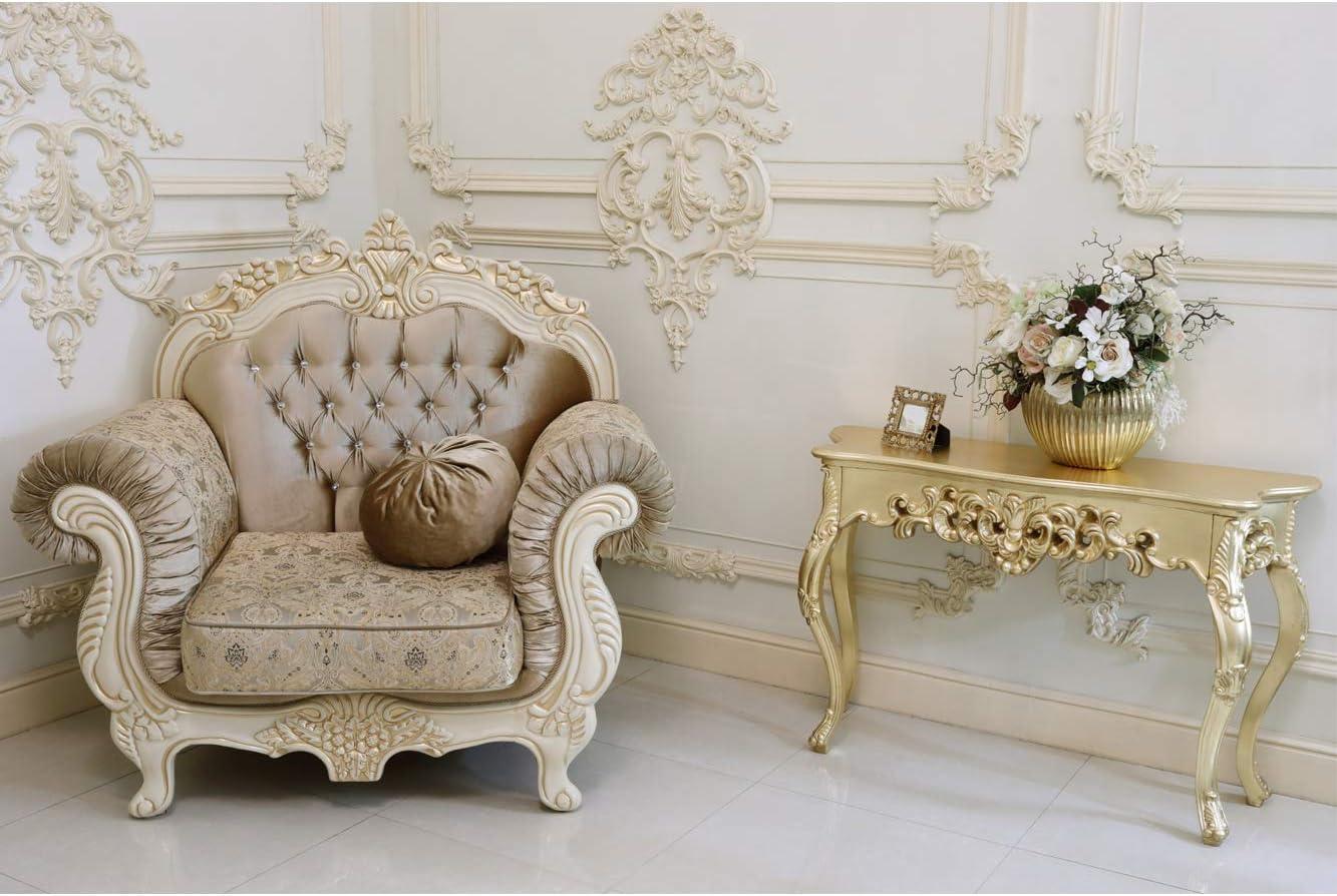 Oedim Papel Pintado para Pared Estudio vacío Barroco con sillón   100 x 70 cm   Salones