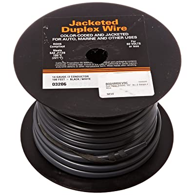 Deka East Penn (03206) 100' 14-2 Gauge Jacketed Wire: Automotive