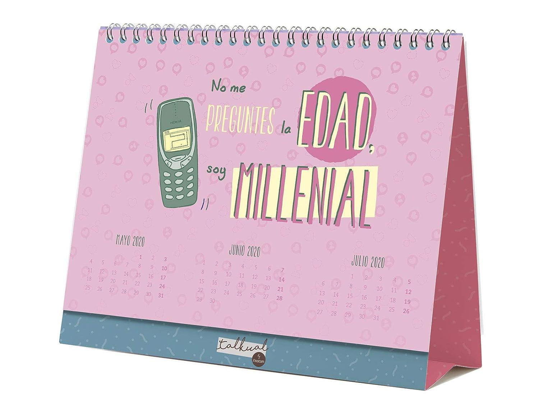 Finocam - Calendario de sobremesa Talkual 2020 español ...