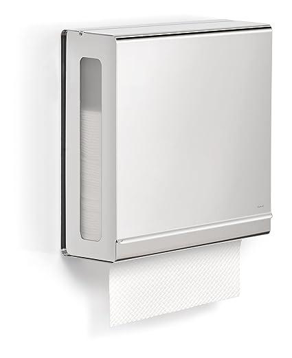 Blomus 66666 NEXIO - Dispensador de toallas de papel, brillo