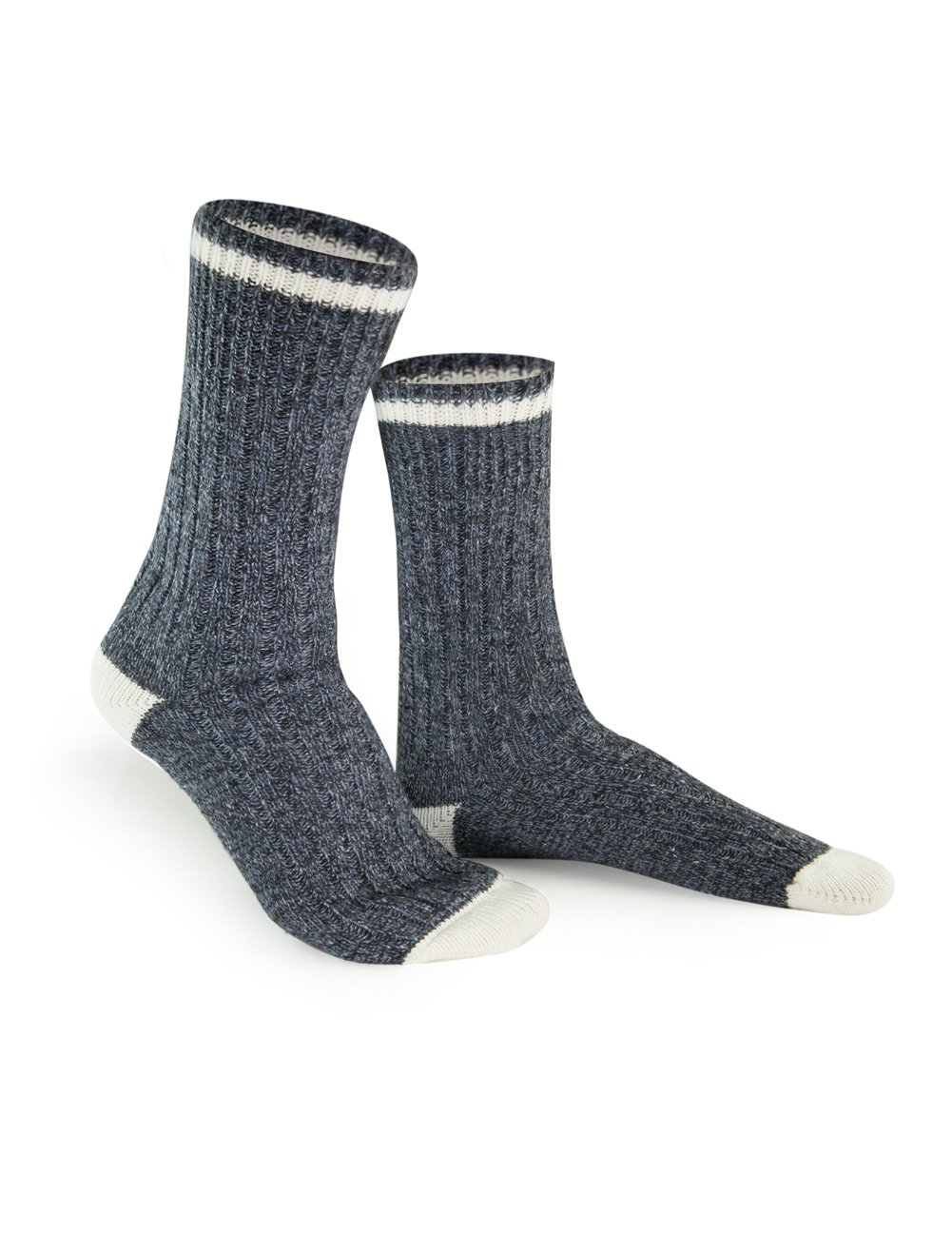 3 Pack Women's Denim Wool Socks - Size 9-10 Duray