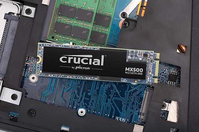 Crucial CT500MX500SSD4 MX500 - Disco duro sólido interno SSD de ...