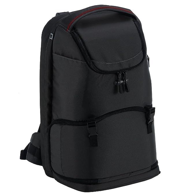 Samsonite B-Lite Photo Backpack M - Mochila para trasportar equipo fotográfico (con funda protectora de lluvia) gris: Amazon.es: Equipaje