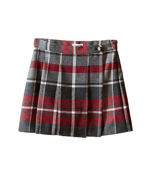4b41e980c6 Dolce & Gabbana Kids Girls' Back to School Quadricheck Tartan Skirt  (Toddler/Little