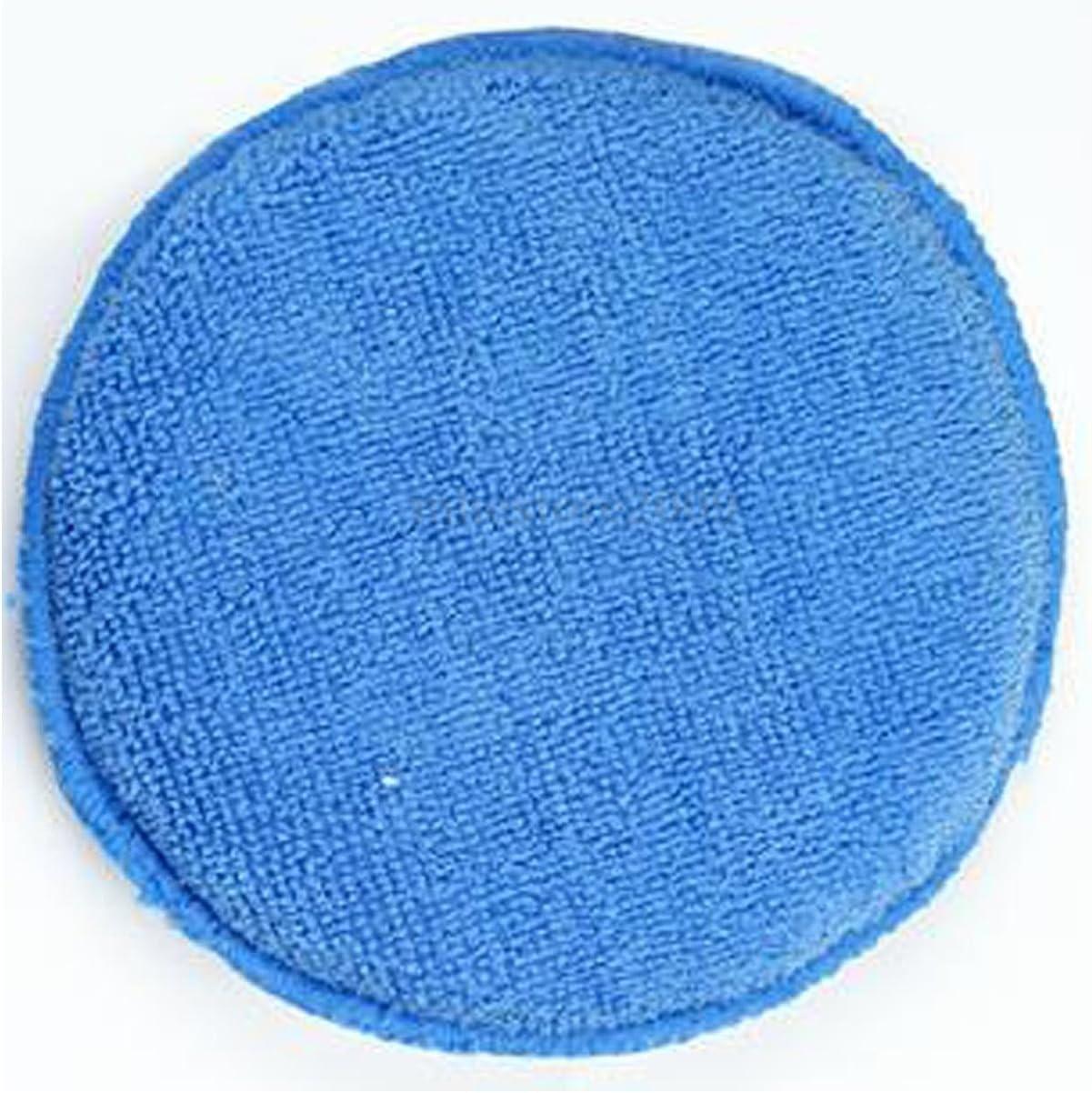 Fliyeong 10x Car Wax Polished Microfiber Foam Sponge Applicator Cleaning Pad Details Convenient Convenient and Practical