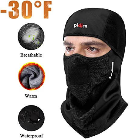 In Mask Winter Cycling Face Windproof Balaclava Motorcycle Cold Bike Ski Sports Neck Warmer Balaclavas Outdoors Multifunctional Bicycle
