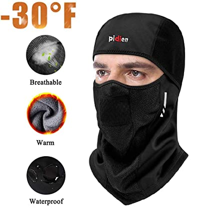ROCKBROS Winter Face Mask Cycling Running Snowboard Ski Warm Windproof Scarf Cap