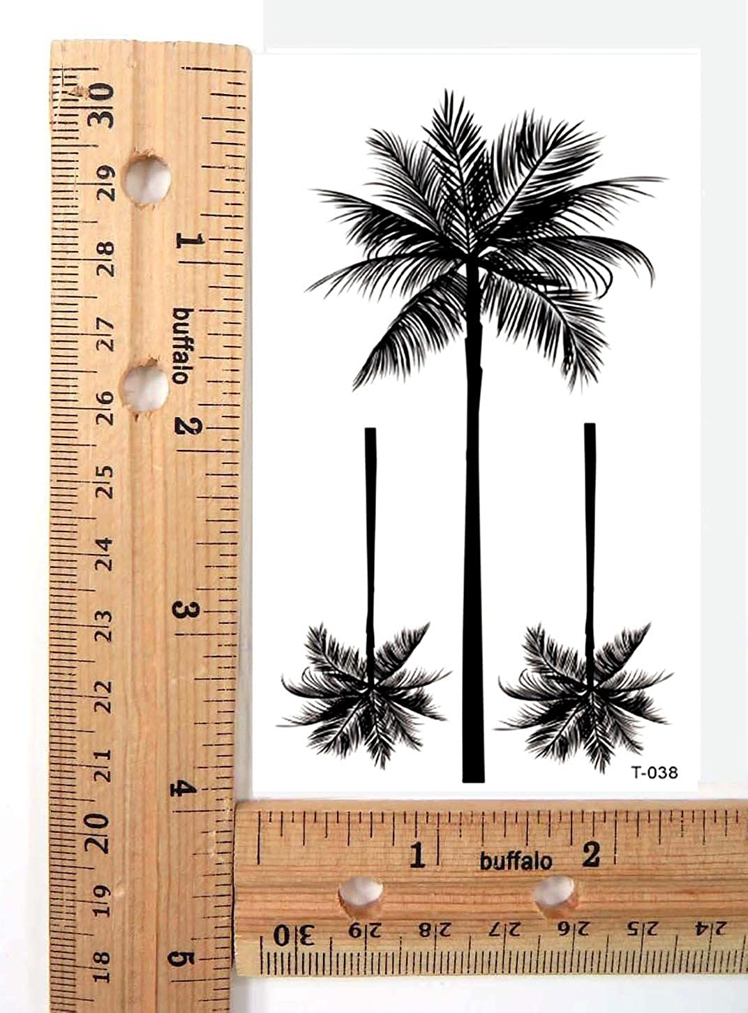 be8c3858c Amazon.com: tropical palm tree temporary tattoo sexy party favor: Clothing