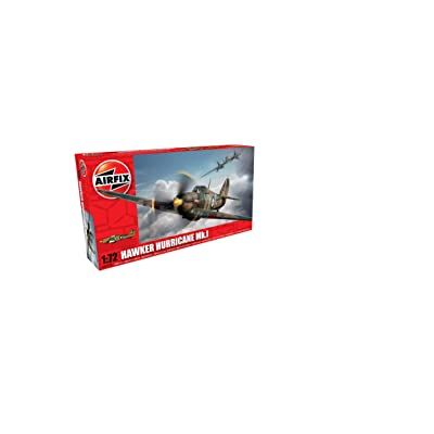 Airfix Hawker Hurricane MkI Model Kit (1:72 Scale): Toys & Games