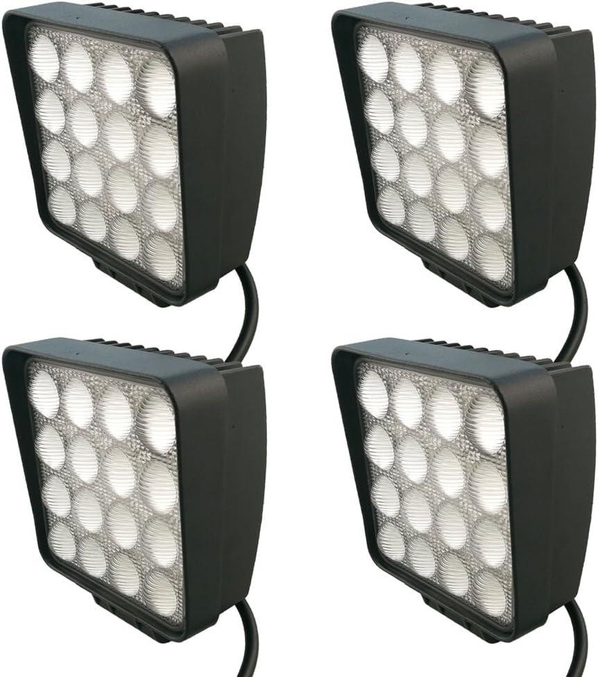 Pour SUV 5 D LARS360-27 /à 48 W UTV et VTT 2x48w Quadrat Projecteur /à LED