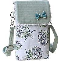 HennYO Women Mobile Phone Shoulder Bag Crossbody Pouch Case Belt Handbag Purse Wallet
