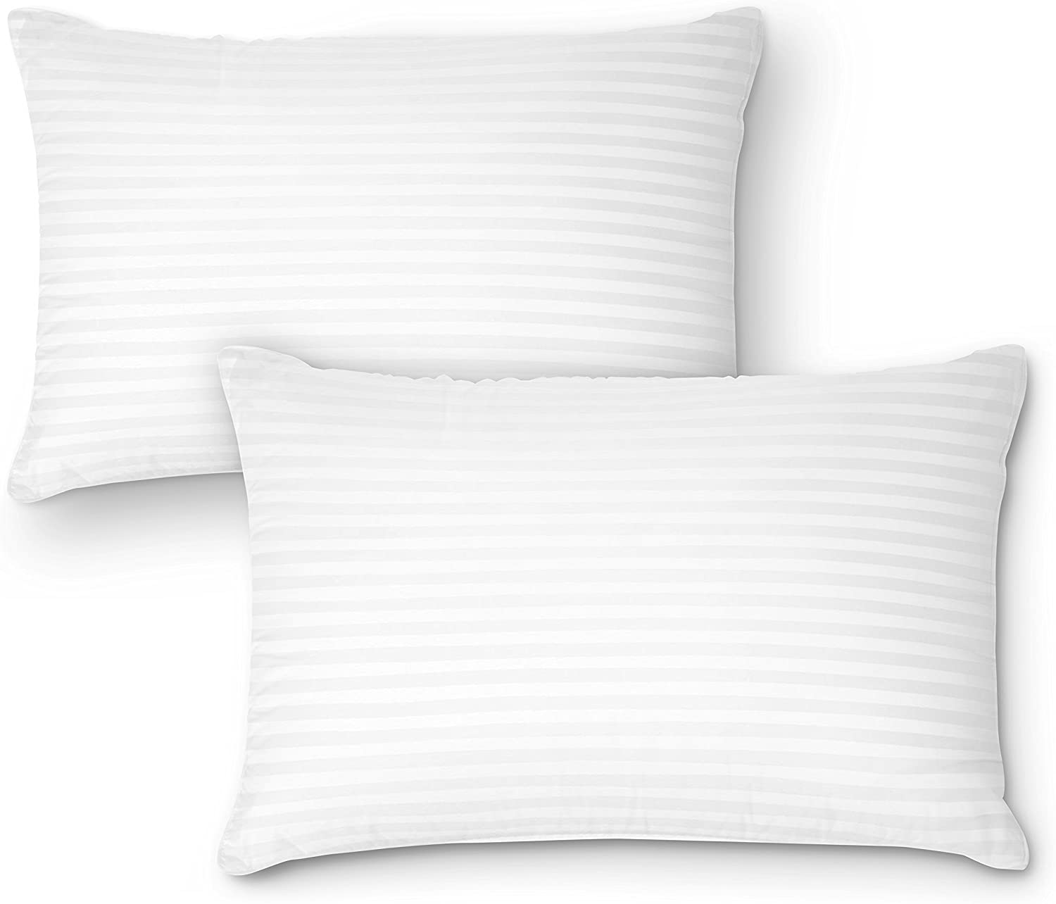 100% Cotton premium gel pillow for side sleepers and back sleepers review. Bet gel pillow loft.