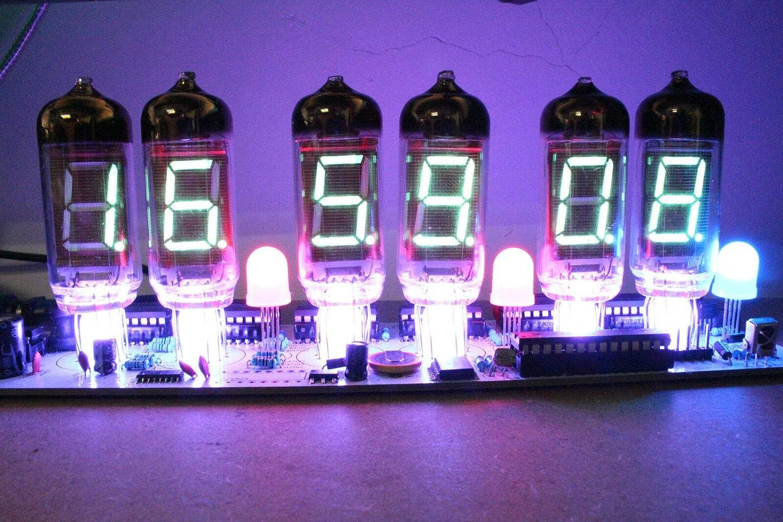 NIXT CLOCK DIY IV11 VFD Clock DIY Electronic Soldering Kit Nixie era VFD Tube