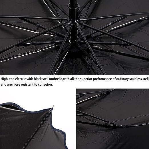 UQ Parapluie pliable Femme Ultra-l/éger Parasol Anti-UV Lotus Marron
