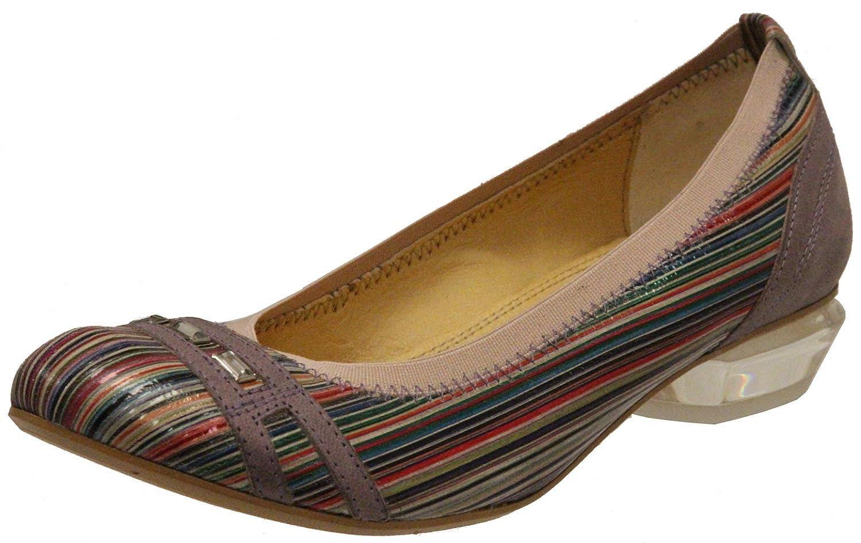Tiggers Zapatos de Cordones Para Mujer Bunt, Rose 35 EU 37 EU