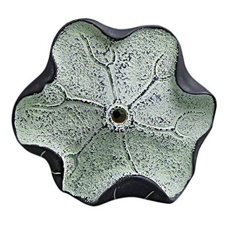 Amazon.com: olpchee Creative Lotus Leaf Resina gancho de ...