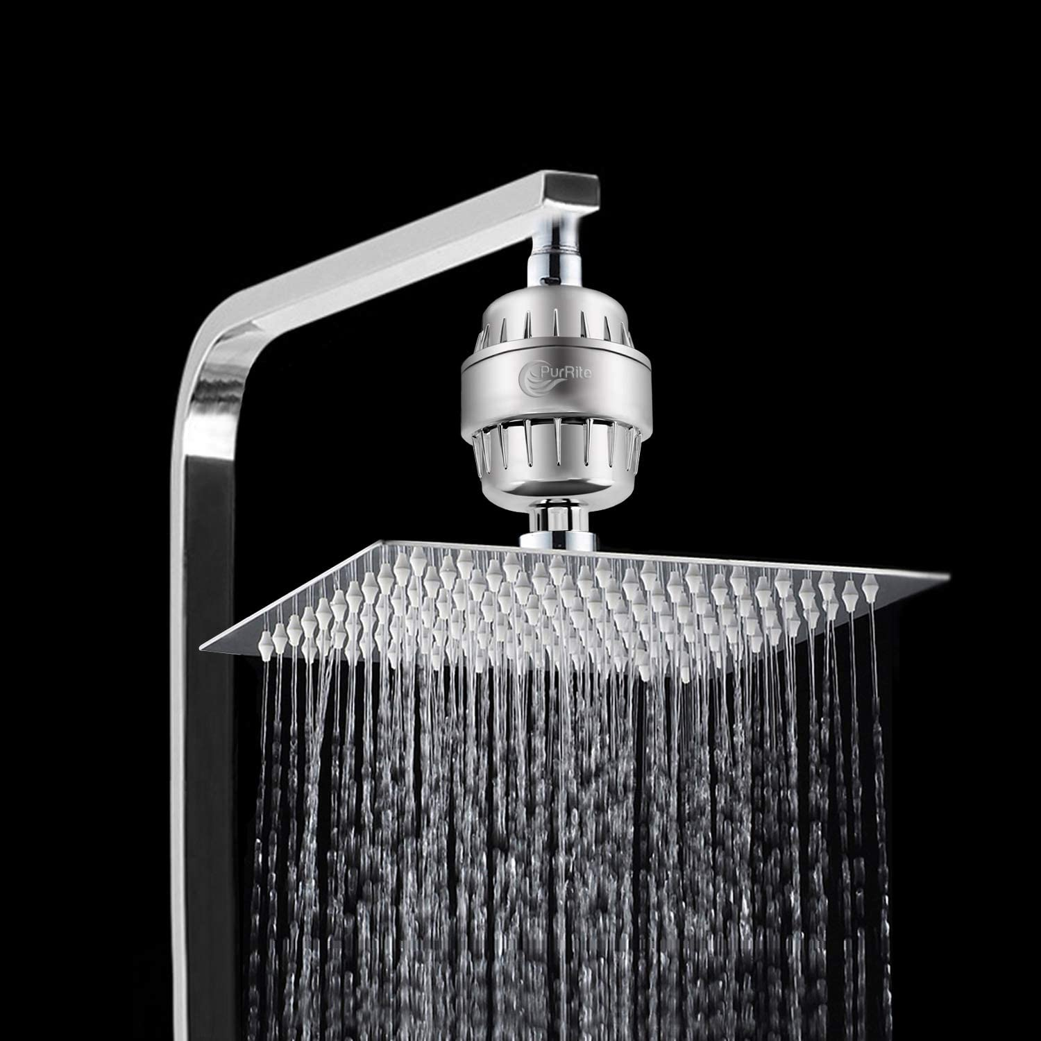 PurRite Shower Filter Water Softener in real life