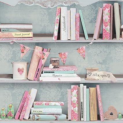 Arthouse Curious Multi Wallpaper Amazon Co Uk Kitchen Home