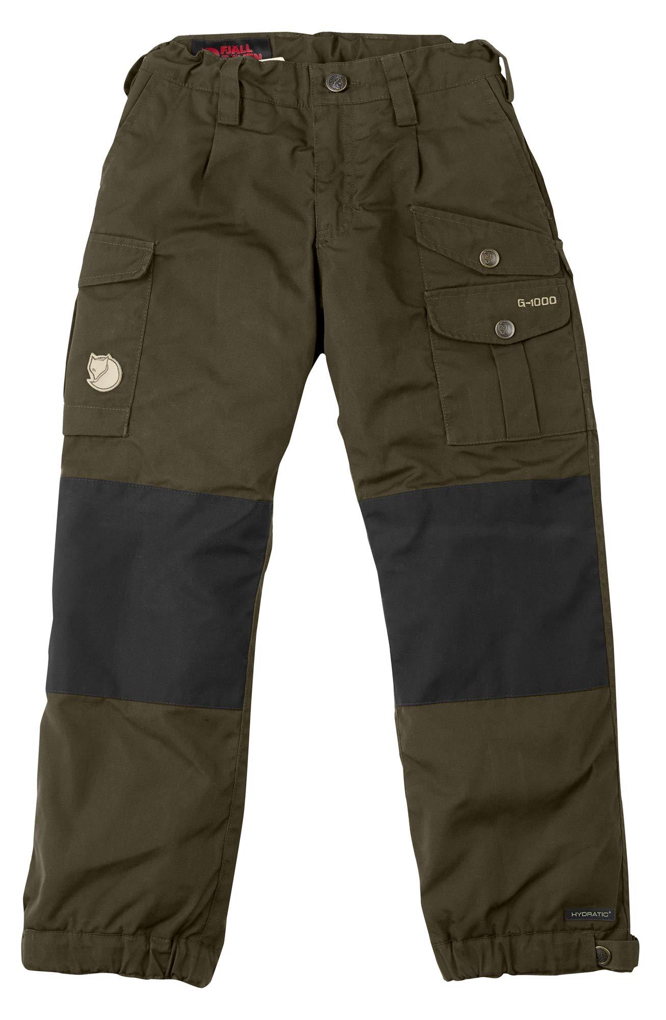Fjallraven - Kid's Vidda Padded Trousers, Dark Olive, 152