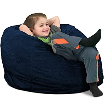 Amazon.com: Ultimate saco kids saco puf silla: gigante ...