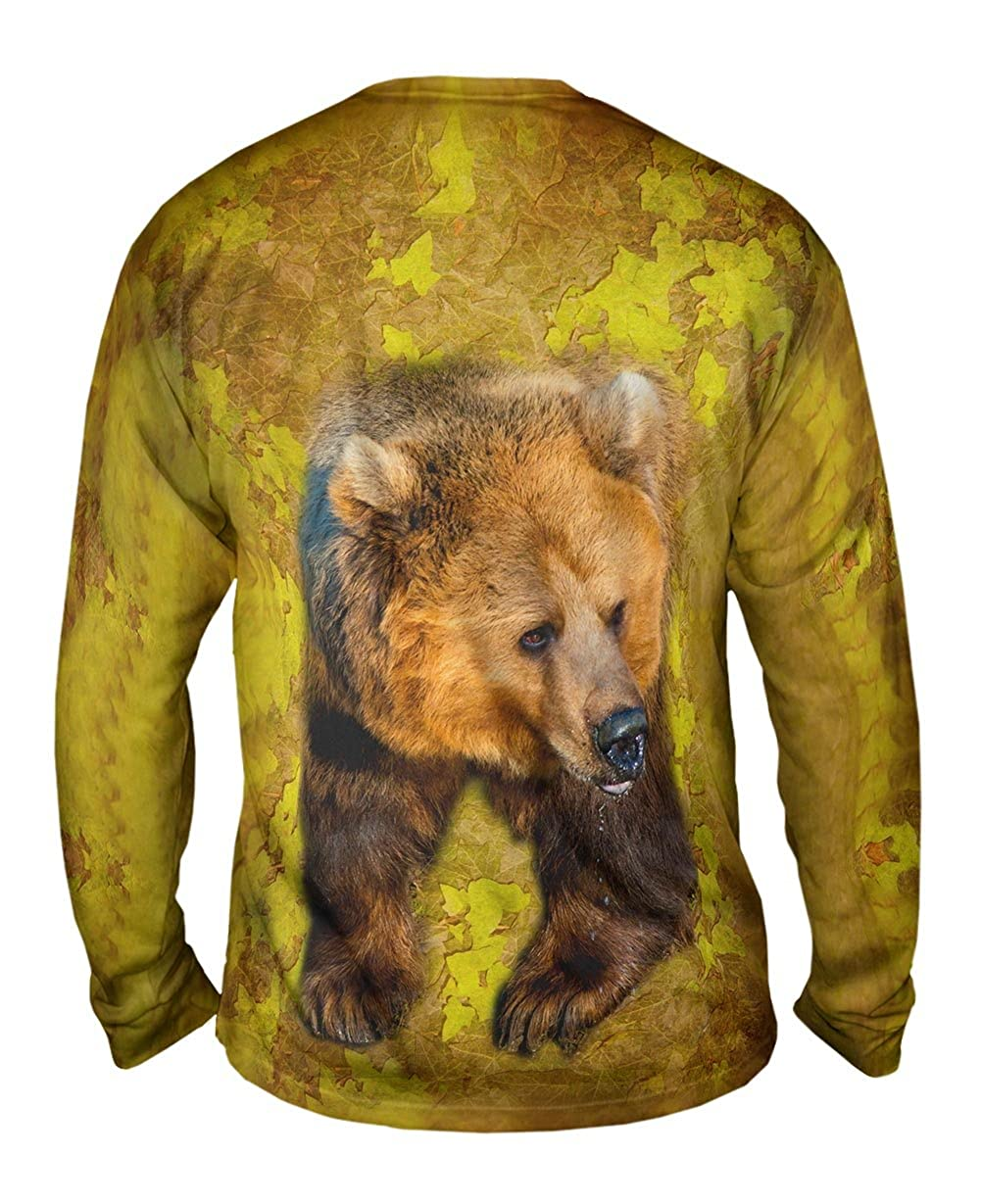 Claw Bear Mens Long Sleeve Yizzam TShirt