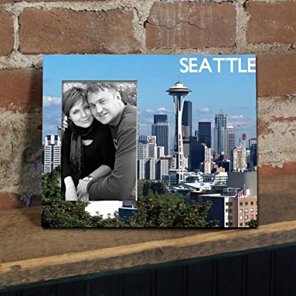 Amazon.com - Seattle Picture Frame - Space Neeedle - Holds 4\