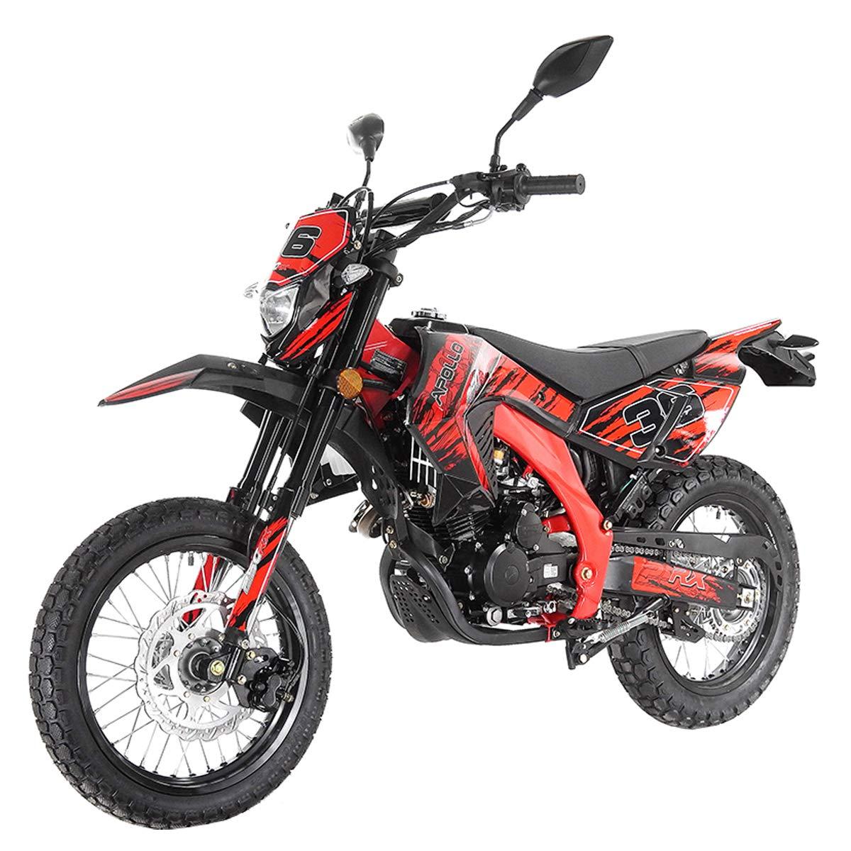 X-Pro 250cc Dirt Bike Pit Bike Gas Dirt Bikes Adult Dirt Pitbike 250cc Deluxe DOT Street Legal Dirt Pit Bike