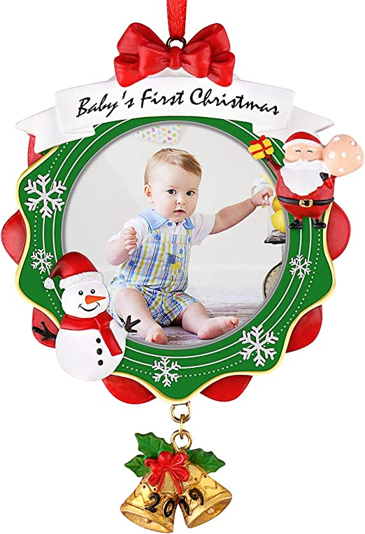 Baby Twins First Christmas 2018 Keepsake Ornament