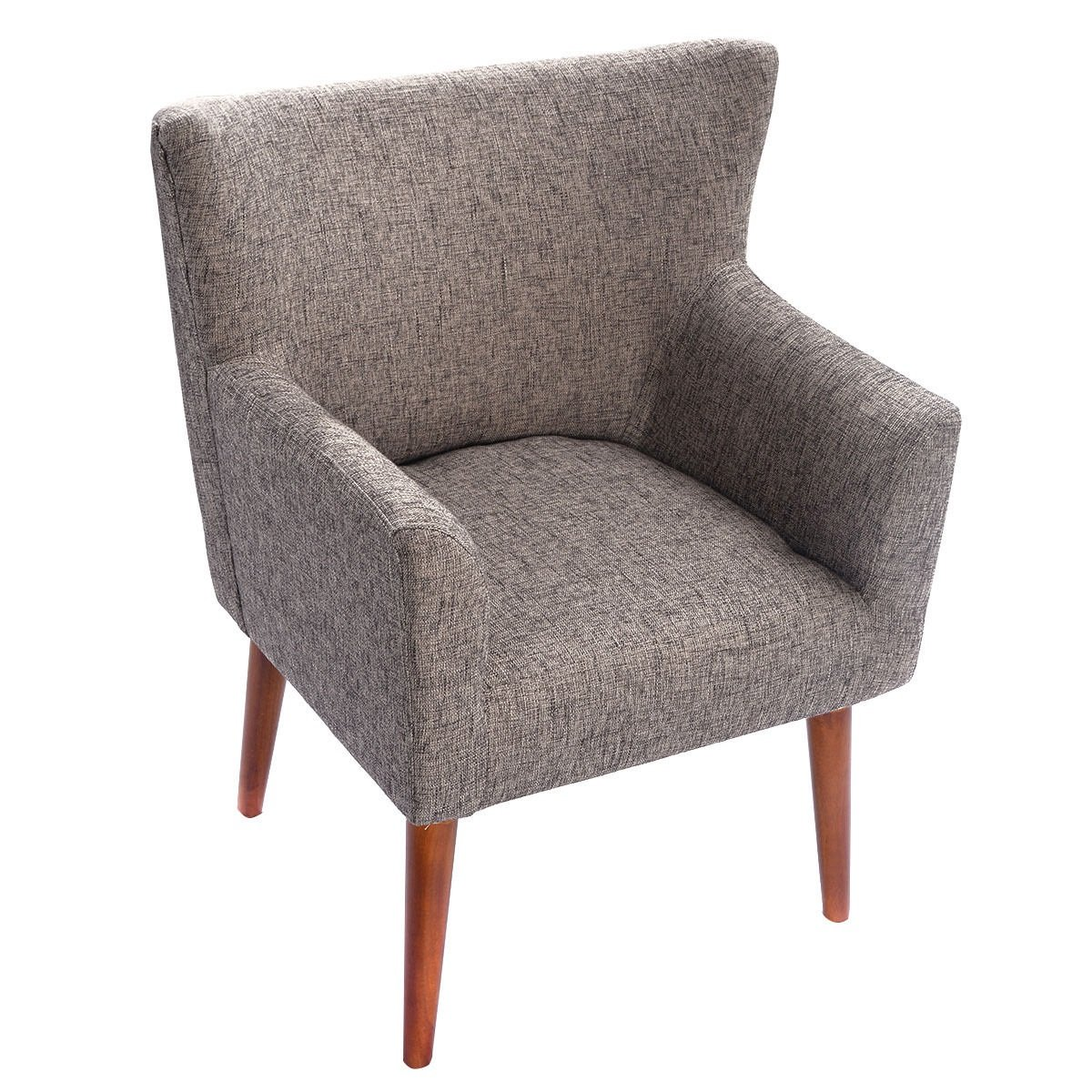 Gray Living Room Chair Leisure Couch Seat for Lounging