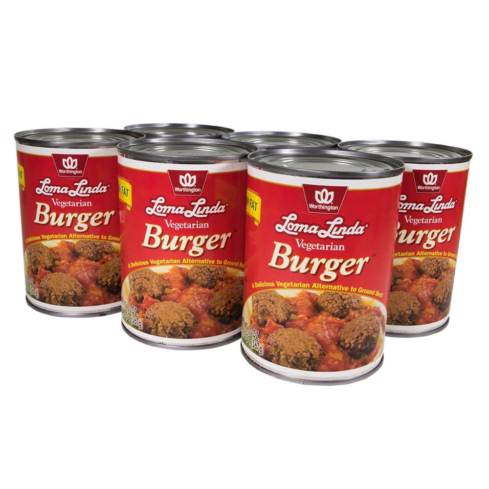 Loma Linda - Plant-Based - Vegetarian Burger (20 oz.) (Pack of 6) - Kosher by Loma Linda (Image #2)