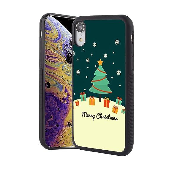 Christmas Phone Case Iphone Xr.Amazon Com Kasos Cute Merry Christmas Phone Case For Iphone