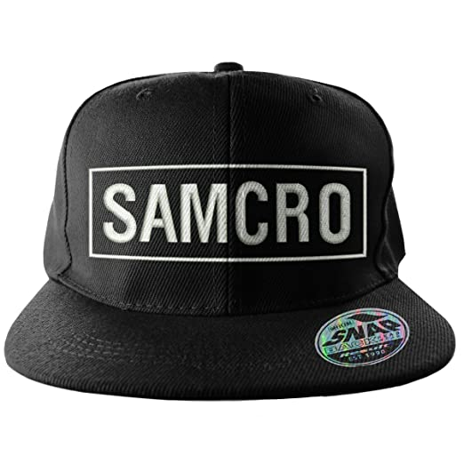 e7bca718c7b Amazon.com  Officially Licensed Merchandise SAMCRO Embroidered ...