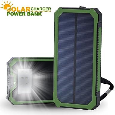 Cargador solar power bank, costech portátil 15000 mAh Dual ...