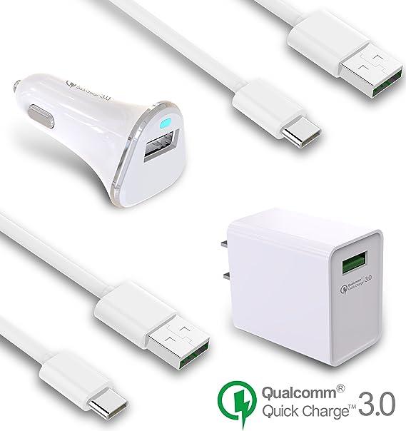 ASUS Zenfone 3 ze520kl Cargador Rápido USB Tipo C UL QC 3.0 Cable ...