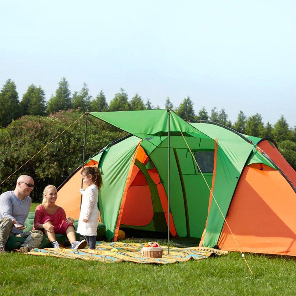 Deng Zelt im Freien 3-4 Personen Familie wilden Camping Frühjahr Tour mit dem Auto