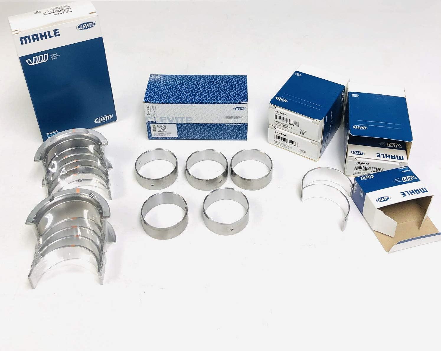 Clevite A series Engine Rod /& Main Bearing Sets compatible with 1999-10 4.8L 5.3L 6.0L VORTEC Chevy LS Standard Size