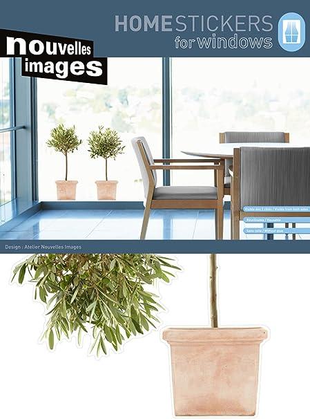 Nouvelles Images 170.001477.03 Autocollant pour Fen/être Papier Multicolore 69,5 x 49 x 0,1 cm