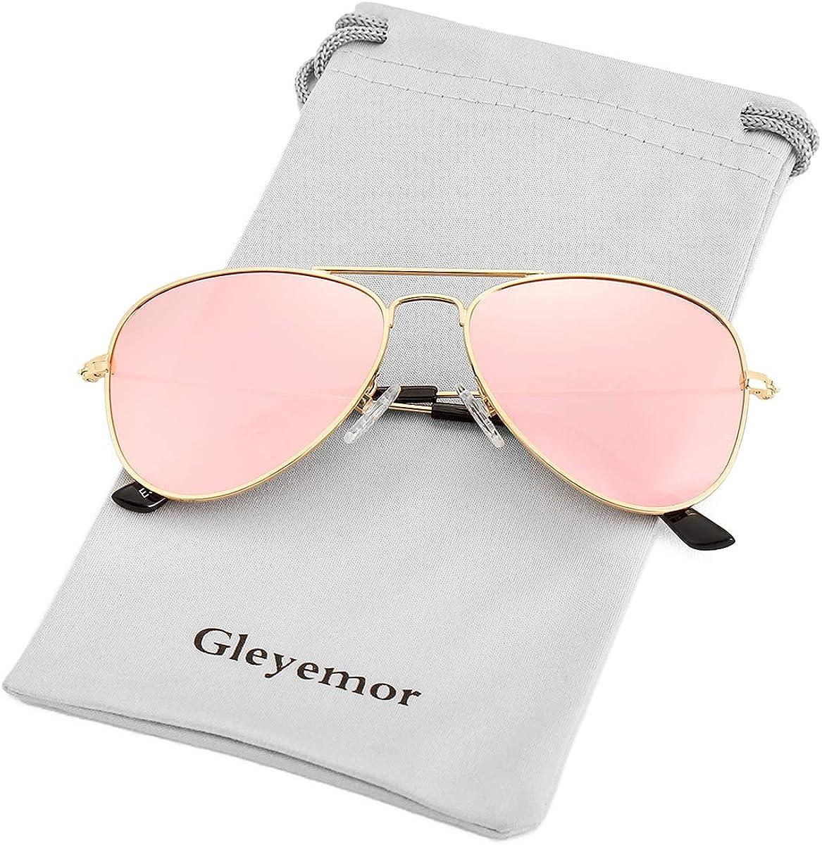 Kids Polarized Aviator Sunglasses for Little Girls Boys Juniors Teenagers,...