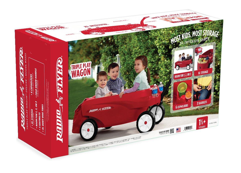 Radio Flyer Triple Play Wagon by Radio Flyer
