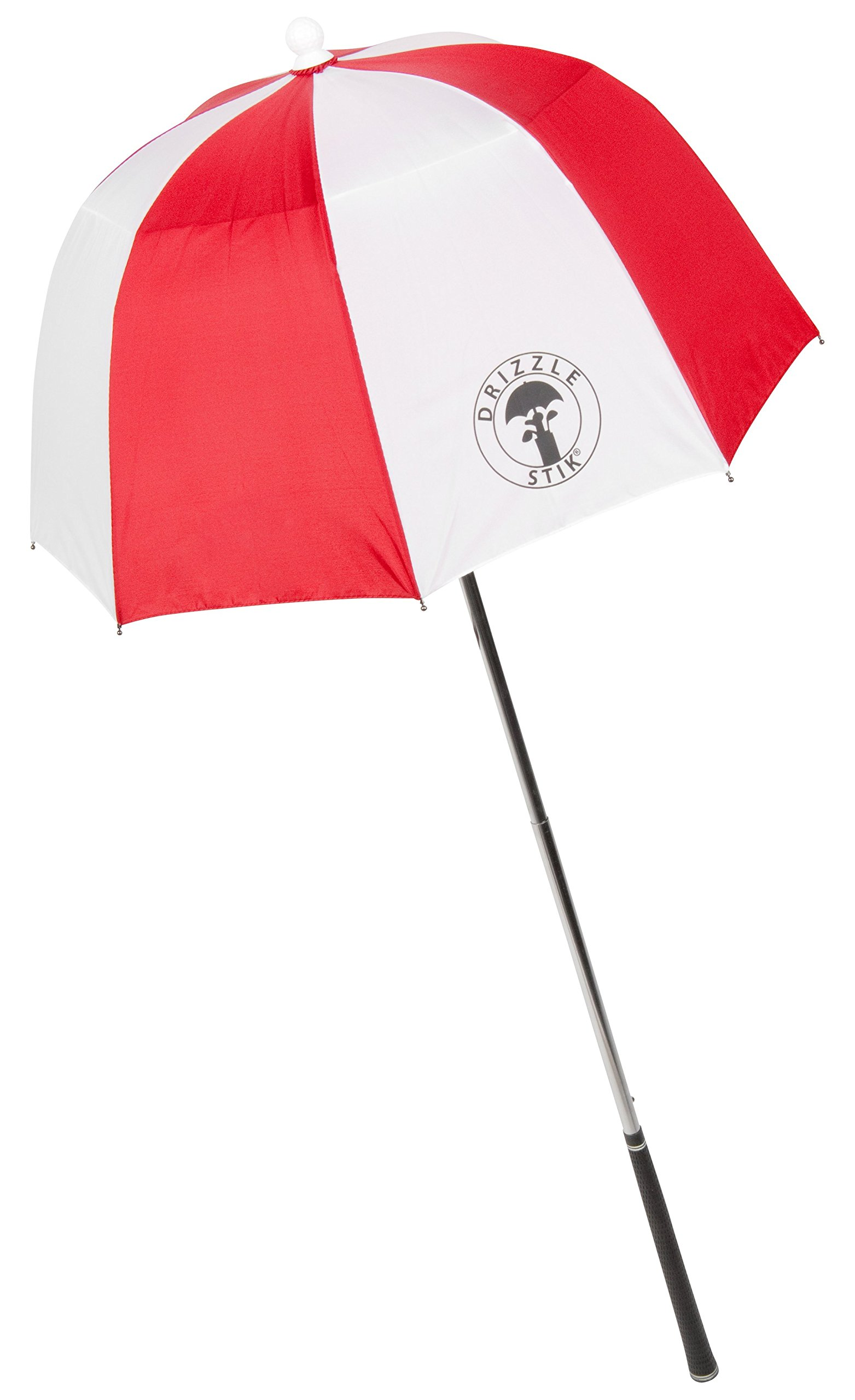 DrizzleStik Flex - Golf Club Umbrella (Red/White) by Drizzle Stik