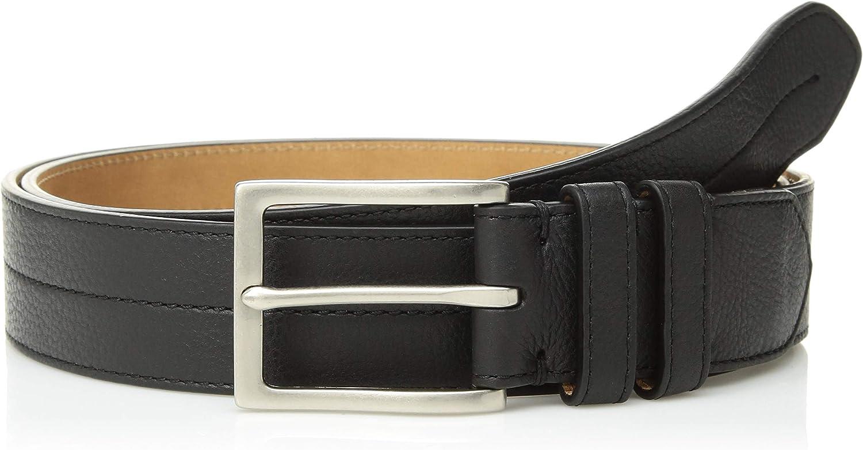 Cole Haan Mens 35mm Pebble Leather Belt