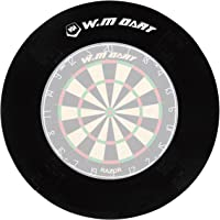 Dart Backboard EVA Reversible Dart Board Surround Protector Wall Accessories Black